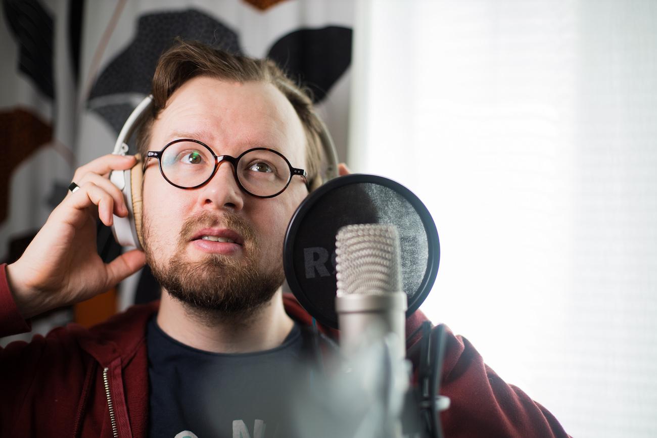 Podcastaaja Jukka Aalho